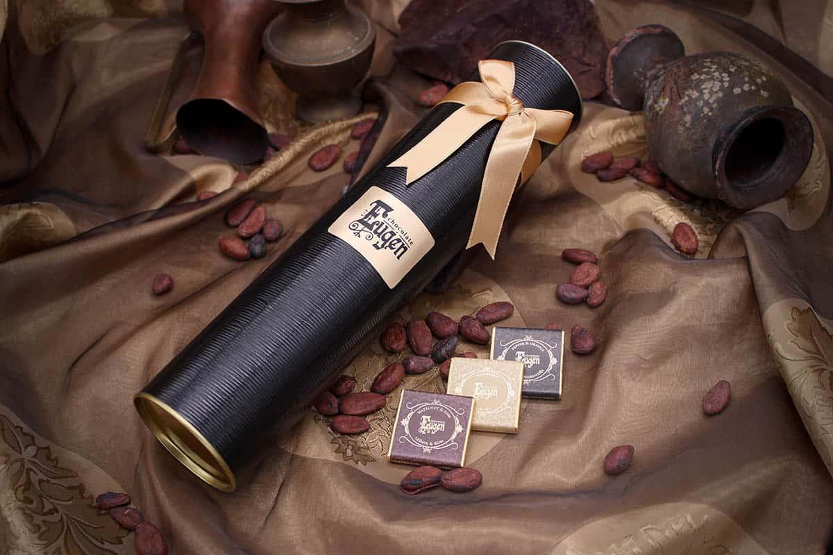 Chocolate Tube 300g - black