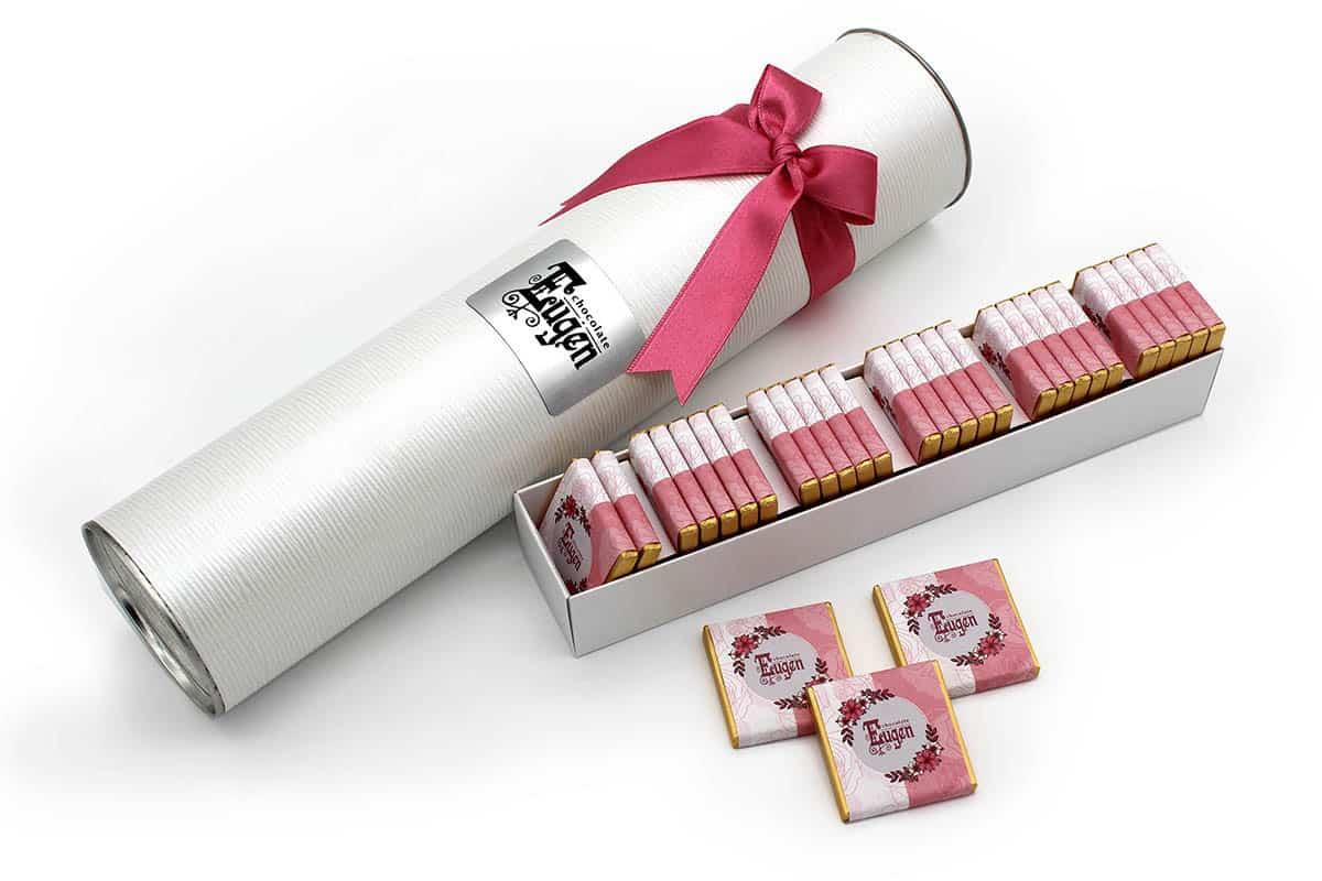 Chocolate Tube - white