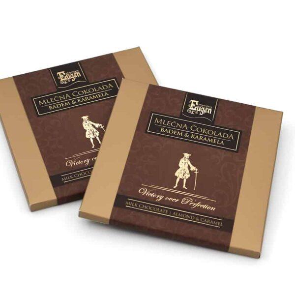 Chocolate Selection - Mlečna Čokolada - Badem & Karamela