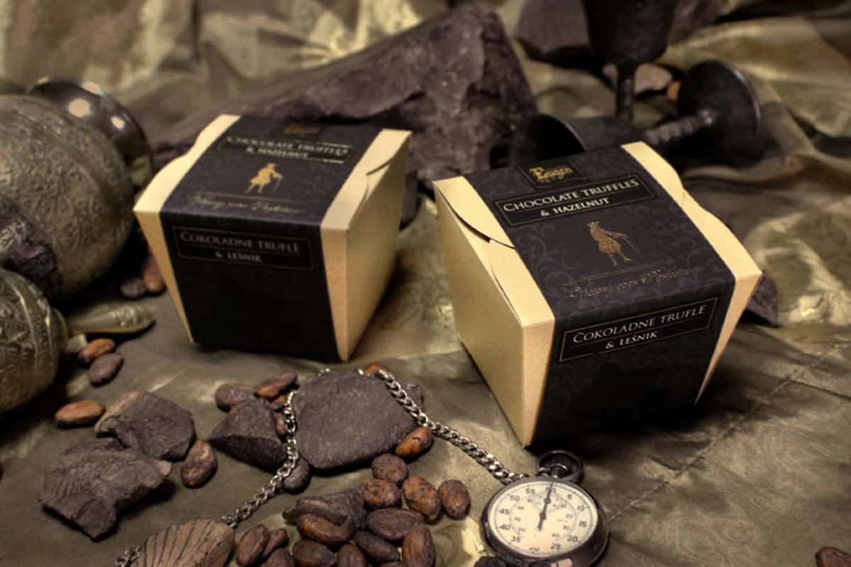 chocolate cubes