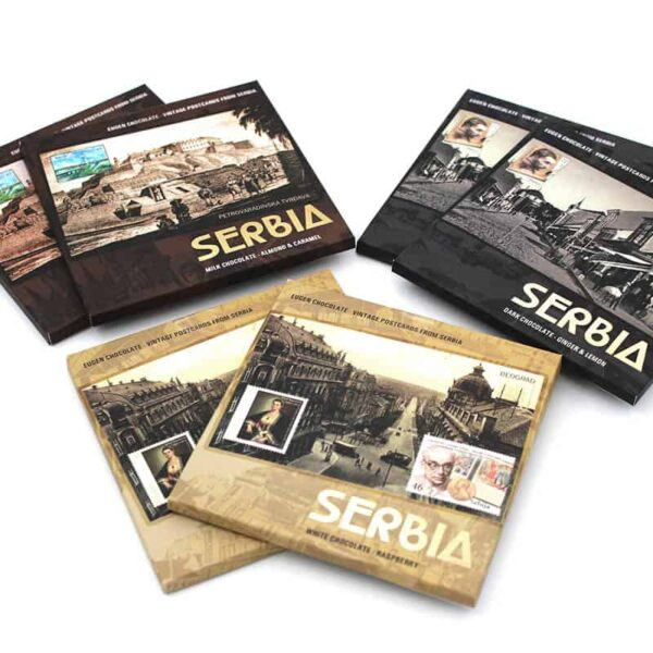 collection 90g - vintage postcards from serbia
