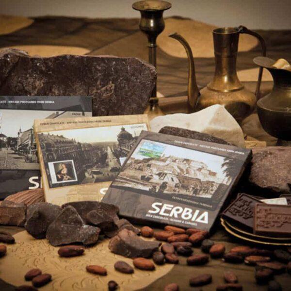 collection 90g - vintage postcards from serbia - kolekcija 90g
