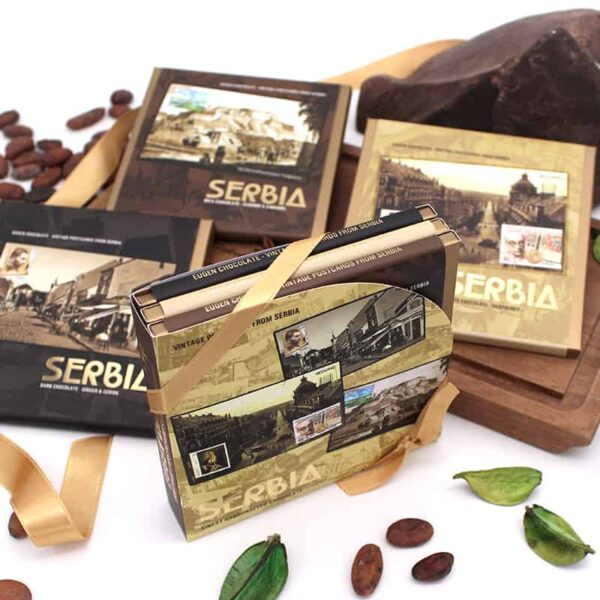 Vintage Postcards from Serbia Gift Box 02