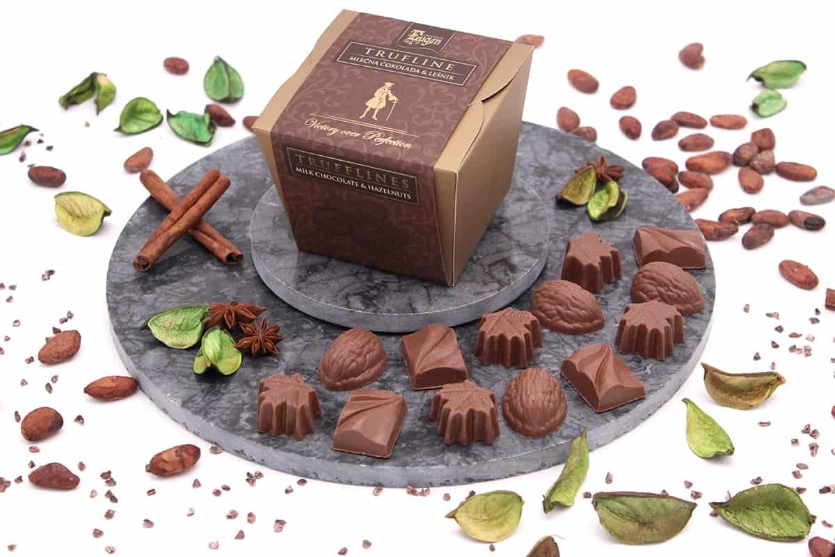 Chocolate Cubes Milk Trufflines